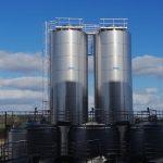 Despacho Silo 300.000 l para leche a Uruguay
